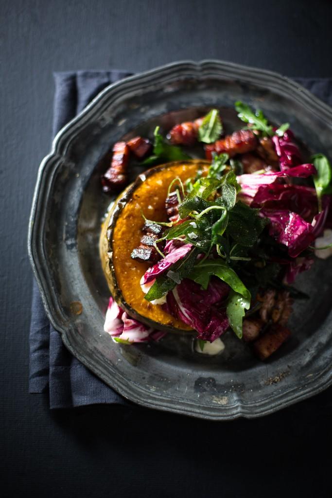 Winter Pumpkin Salad