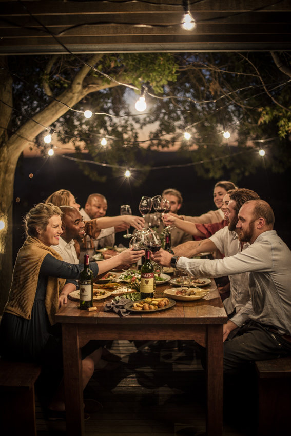 Food And Wine Lifestyle shoot for Alto